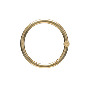 RING / vintage gold matal hardware